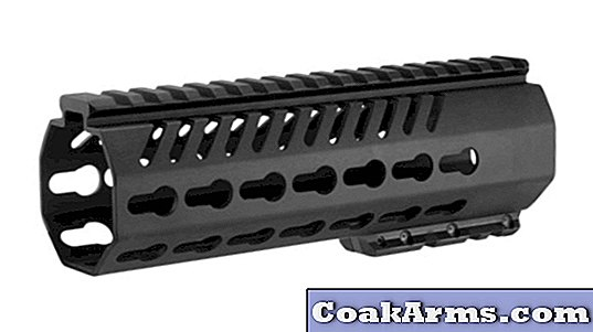 Mission First: TEKKO Metal AR Free Float 7-inch KeyMod Rail-systeem