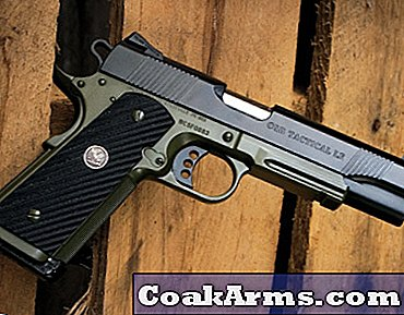 Wilson CQB Tactical LE .45ACP 1911 Pistol Review