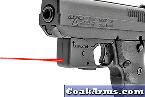 LaserLyte's TGL-kit (Trigger Guard Laser) voor Hi-Point-pistolen