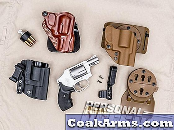 3 Holsters Cover Deep untuk Model Smith & Wesson Anda 642
