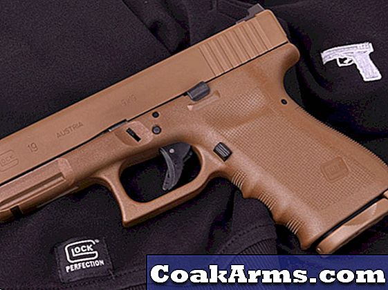 Lipseys & Larry Vickers Team für Full Flat Dark Earth 'Vickers Glock' Pistolen