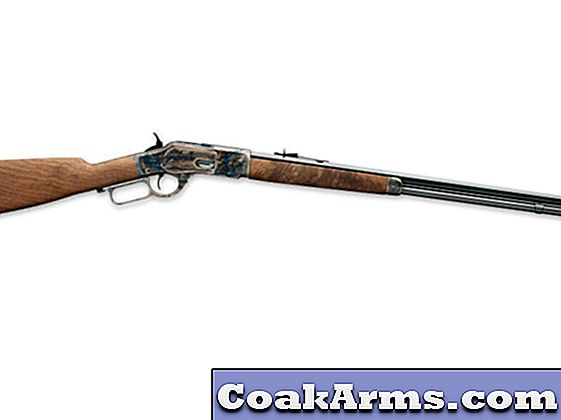 Winchester's Model 1873 Sporter Octagon Color Case Hardened Rifle