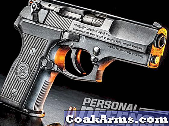 Cool Cat: The Stoeger Cougar Compact 9mm pistool