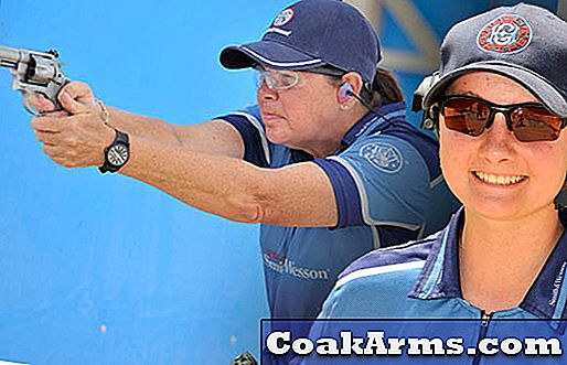 S & W Junior Capt. Molly Smith interviews 2012 USPSA Ladies Revolver nat.  champ.