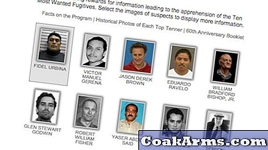 FBI viert het 65-jarig jubileum van Ten Most Wanted Fugitives Program