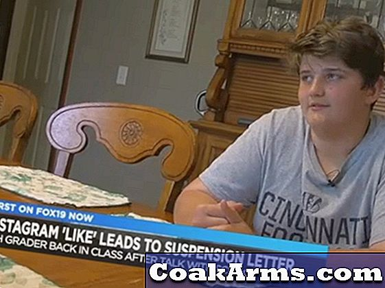 Ohio Middle School Student Suspended voor 'Liking' Instagram Gun Photo