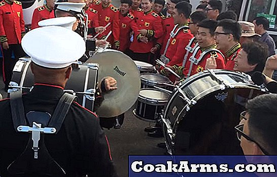 VIDEO: US Marines, Republic of Korea Bands Square Off in Drum Battle