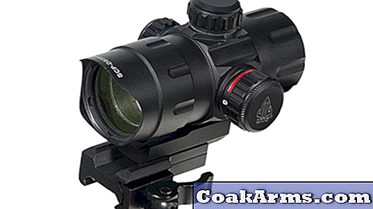 الجديد لعام 2016: Leapears 'UTG Red / Green T-Dot Reticle