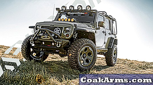 Kilroy: Rugged Ridges Military-Themed Jeep