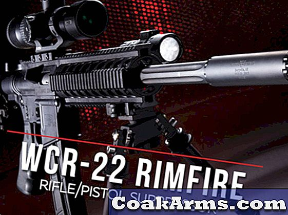 Wilson Combat's WCR-22 Rimfire Rifle / Pistol Suppressor